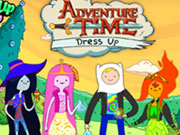 Adventure Time Dress Up Game 2
