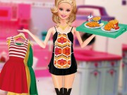 Barbie Waitress Fashion