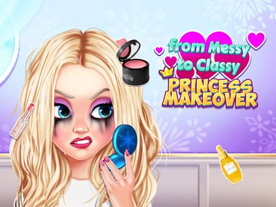 From Messy to Classy: Princess Makeover