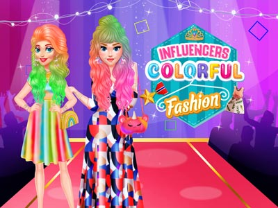 Influencers Colorful Fashion