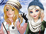 Princesses Winter School Lookbook