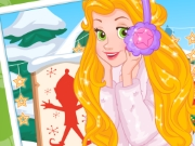 Rapunzel's Frosty Photoshoot