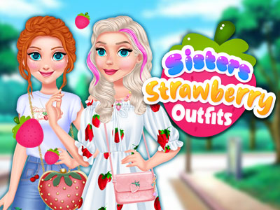 Sisters Strawberry Outfits