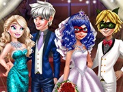 Superhero Wedding Royal Guests